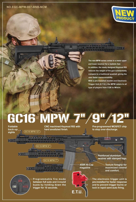 G&G GC16 MPW