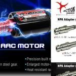 Motorer och HPA-adaptrar från Action Army