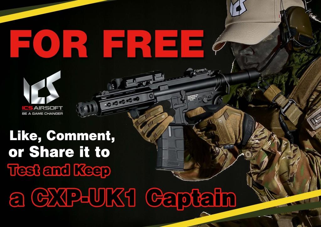 ICS CXP-UK1 CAPTAIN Raffle