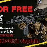 Utlottning av ICS Airsoft CXP-UK1 Captain