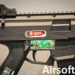 SHOT Show 2016: ASG CZ Scorpion EVO 3 A1 Inferno (HPA)