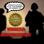 Vinnare i 6th Airsoft Players' Choice Awards