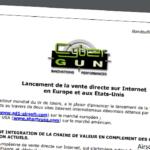 Cybergun börjar med direktförsäljning till konsumenter