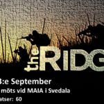 The Ridge – scenariospel den 3:e september