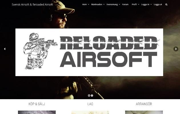 Reloaded Airsoft lanseras snart.