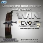 Designa och vinn ASG CZ Scorpion EVO 3A1 HPA
