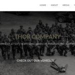 Laget Thor Company har lanserat webbplats