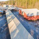 Nerlagt sågverk kan bli stor airsoftanläggning i Vetlanda (Småland)