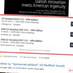 Produktwidget från Airsoftdb i nyheter