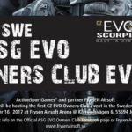 1st SWE ASG Evo Owners Club Event