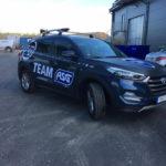 ActionSportGames Sverige-säljares nya bil
