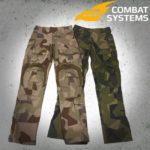 Combat Systems slutar med kläder