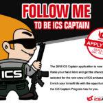ICS söker nya ambassadörer för 2018 (ICS Captains)