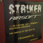 Striker Airsoft stänger sin fysiska butik i Stockholm