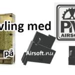 """Tre vinner varsin """"PM Odin Adapter"""" från PM Airsoft"""