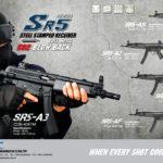 SRC har lanserat serien SR5 (MP5) med CO2-blowback
