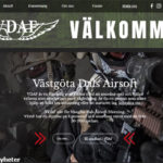 VDAF (Västgöta Dals Airsoft Förening) har lanserat en webbplats
