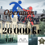 Operation Välfärd 2 samlade in över 26000 kr