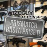 Butiken Wizeguy har infört lägsta prisgaranti (prismatch)