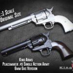 King Arms är på gång att lansera SAA .45 Peacemaker