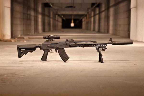 Sharps Bros MB47 x SLR AK