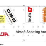 Airsoft Shooting Area på IWA 2019