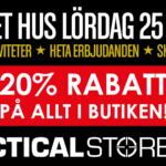Öppet hus/demodag och Blaster Tour 3.0 hos Tacticalstore (25/5)