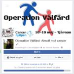 Operation Välfärd 3: Airsoft mot cancer samlade in 18000 kr