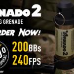 Airsoft Innovations kommer lansera Tornado 2 Timer Frag Grenade