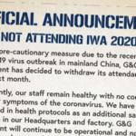 G&G Armament ställer in medverkan på IWA 2020