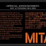 MITA ställer in medverkan på IWA 2020