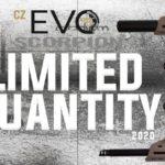 ASG CZ Scorpion EVO 3-serien i fler färger och ny ECU board