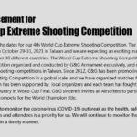 G&G Armament planerar genomföra G&G World Cup 2021 i Taiwan