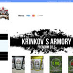 Butiken Krinkovs Armory har lanserat webshop