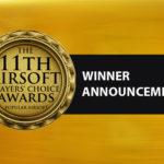 Vinnarna i 11th Airsoft Players' Choice Awards hos Popular Airsoft