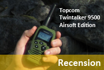 Recension Topcom Twintalker 9500 Airsoft Edition