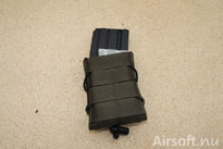 A MOLLE interface on the front.