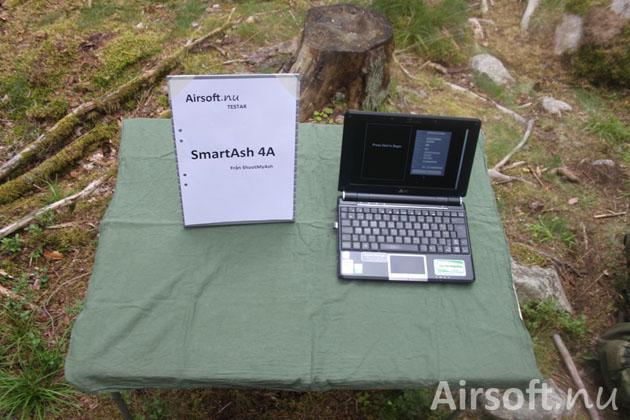 Fälttest av SmartAsh 4A.