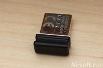 Medföljande USB-mottagare.