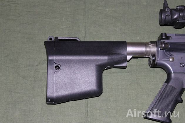 Madbull Troy Battle Ax stock on a PTW.