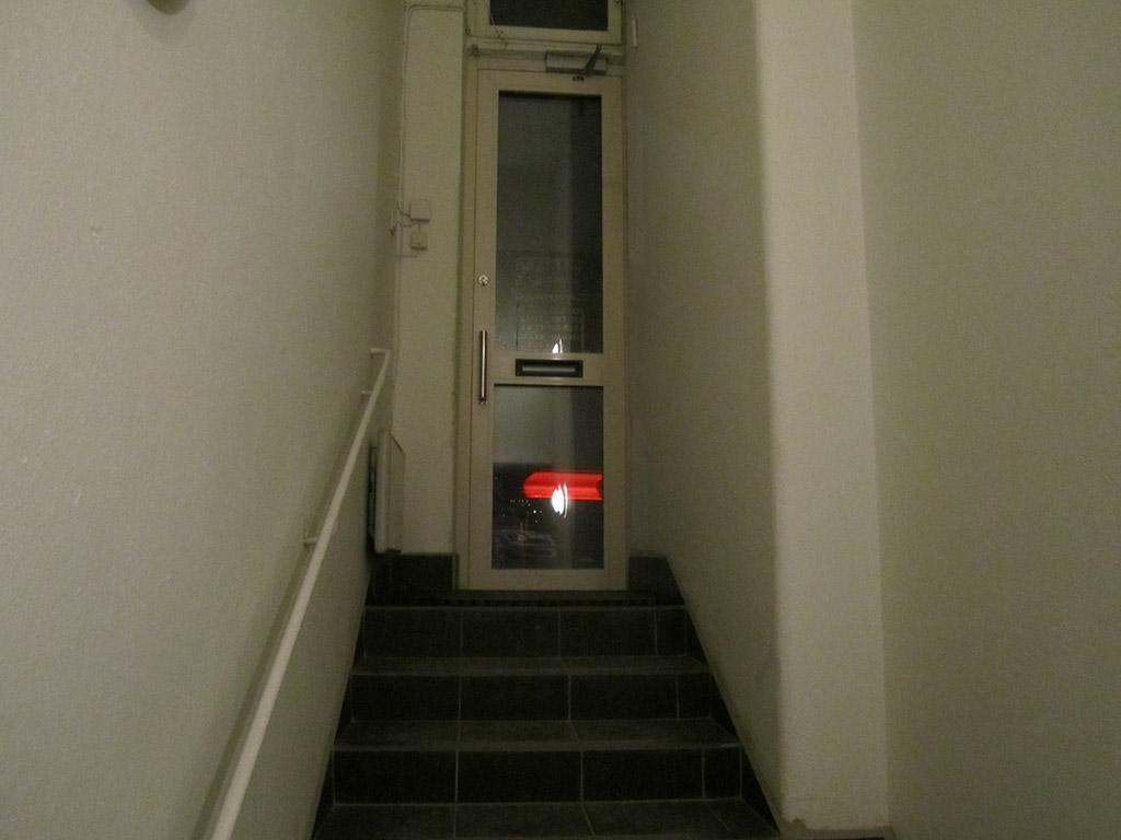 Ytterdörren till Striker Airsoft.