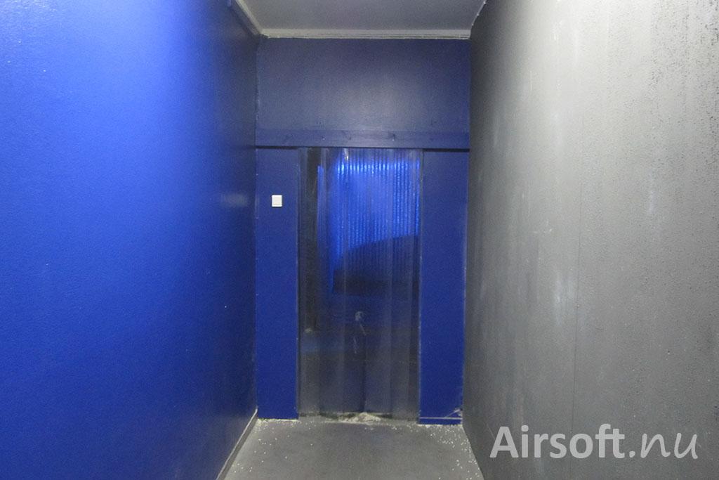 Ingången till inomhusbanan.