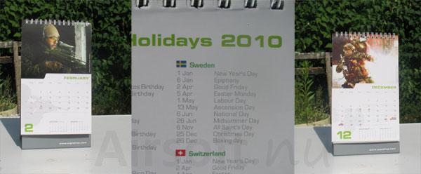 WGC Calendar 2010 Svenska bidrag