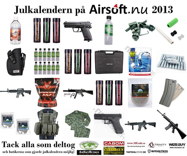 Julkalendern 2013 på Airsoft.nu