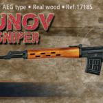 Dragunov SVDS Sniper från ActionSportGames