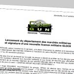 Cybergun har fått Glock-licensen för airsoftvapen (träningsvapen)