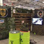 Stockholm Airsoft Regiment (SAR) deltar på mässan Comic Con Stockholm (4-6 november)
