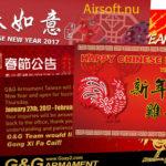 Kinesiskt nyårsfirande 2017