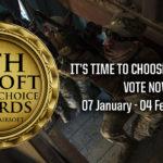 Omröstningen har börjat i 9th Airsoft Players' Choice Awards