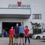 Fabriksbesök hos King Arms i Taiwan